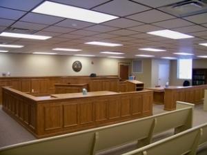 Judicial Center Courtroom